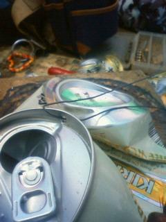 空き缶プレスマシーン3